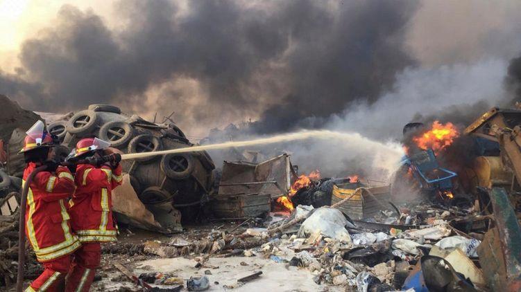 ВОЗ поможет Ливану лечить пострадавших от взрыва в Бейруте