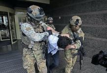Чоловіка, який у центрі Києва захопив відділення банку
