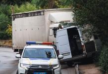 В Днепре грузовик протаранил маршрутку, пострадали девять человек (ФОТО, ВИДЕО)
