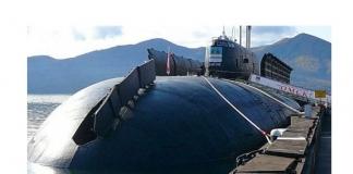 атомная подлодка Омск