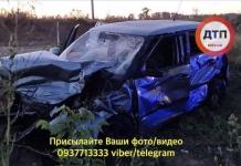 Под Киевом столкнулись BMW и Skoda: один человек погиб, четверо пострадали (ФОТО)