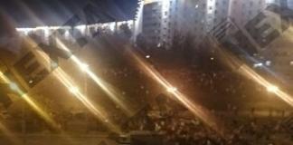 в Минске автозак въехал в толпу протестующих