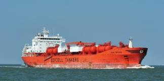 Второй танкер с нефтью из США для Беларуси прибыл в порт Клайпеды