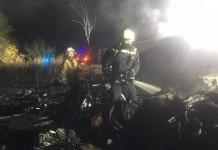 Рятувальники завершили роботу на місці авіакатастрофи АН-26 під Харковом