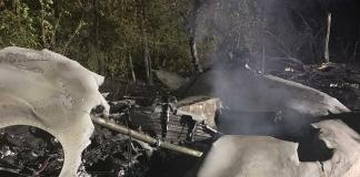 ВВС опубликовали материал о крушении Ан-26 с картой Украины без Крыма. Но потом извинились
