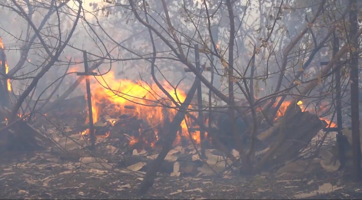 Двоє військових, які зникли під час гасіння пожежі, підірвались на мінному полі