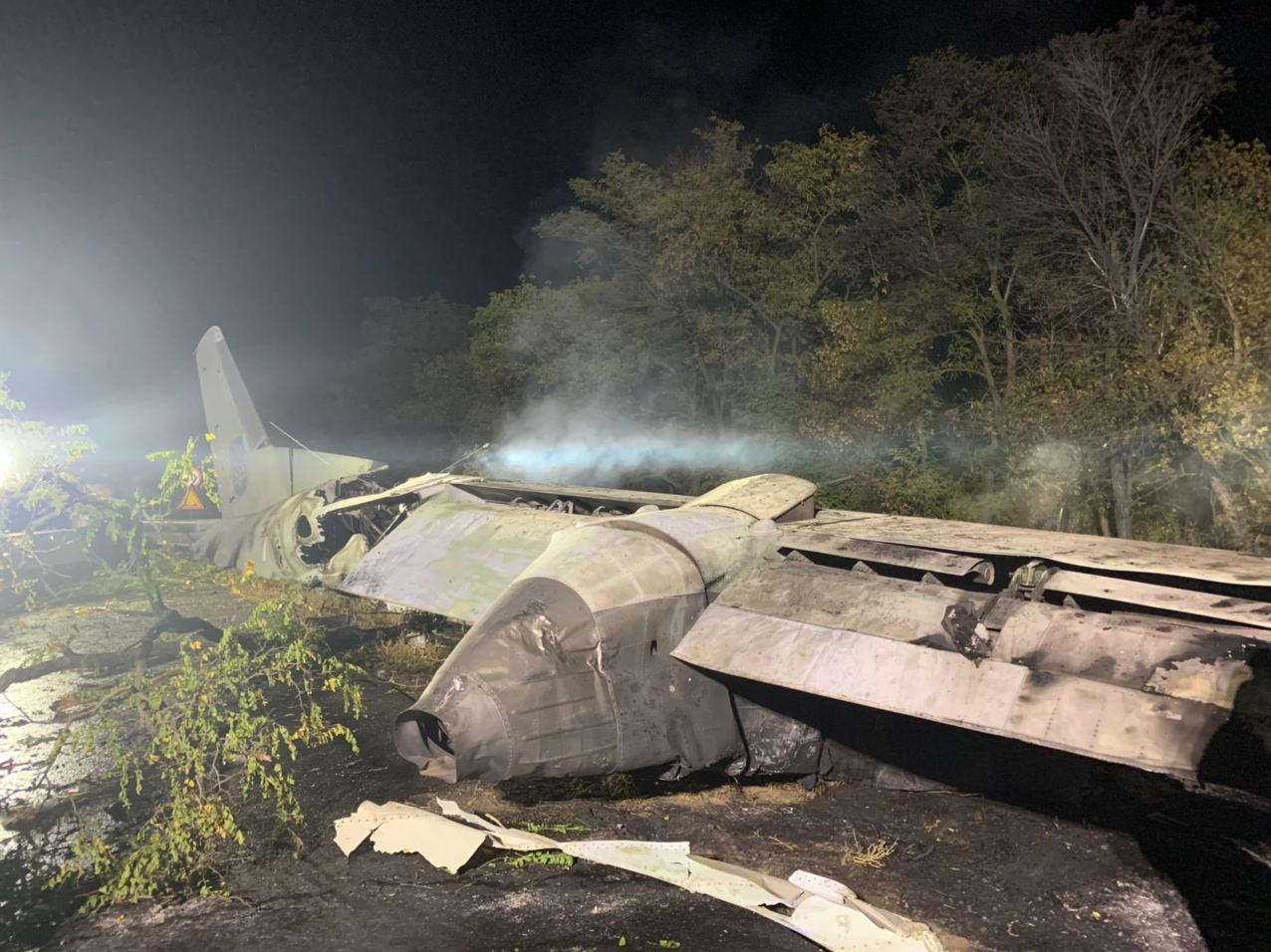 Харьков упал самолет