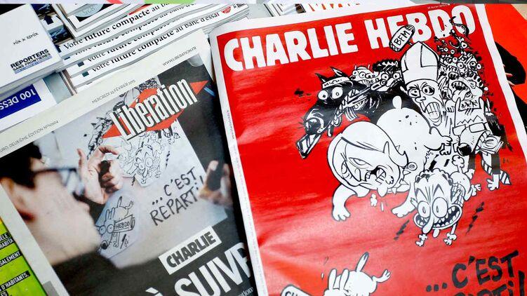 Charlie Hebdo снова опубликует карикатуры на Мухаммеда из-за которых произошло убийство в редакции