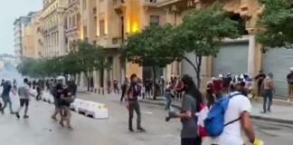 В Бейруте вспыхнули протесты против коррупции, полиция применила слезоточивый газ (ВИДЕО)