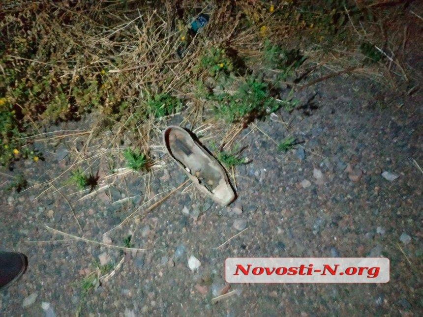 Под Николаевом Opel сбил пешехода, пострадавшему оторвало руку