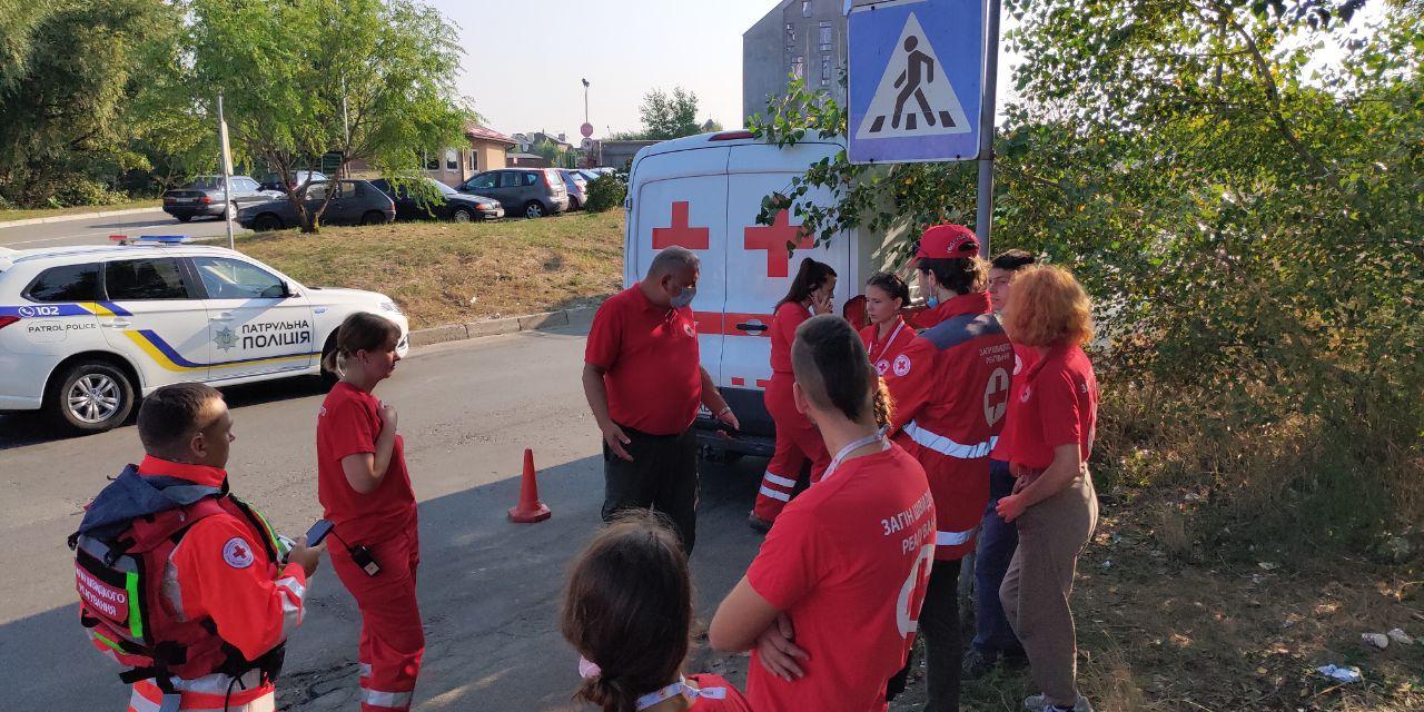 У Києві проходять навчання рятувальників