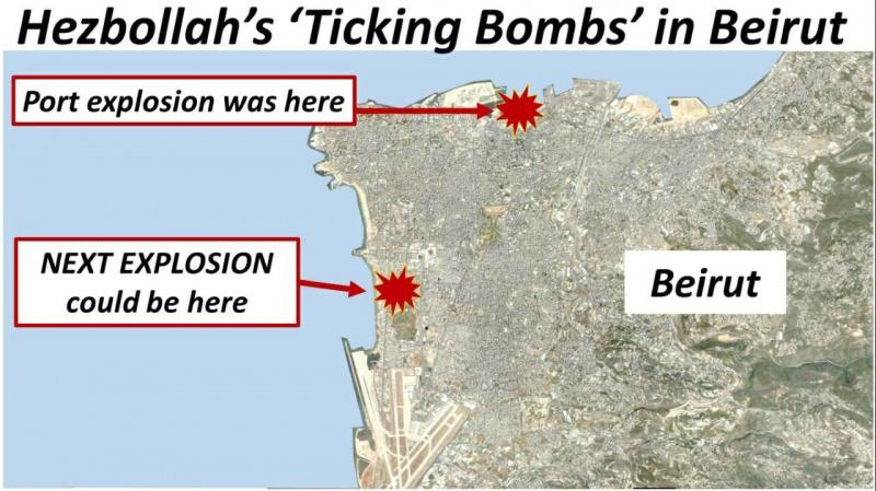 Нетаньяху попередив про можливість чергового вибуху в Бейруті