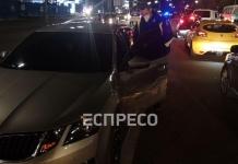 На Дружбы народов в Киеве столкнулись три авто: есть пострадавший (ФОТО, ВИДЕО)