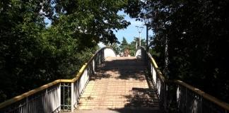 мост Любви в Черкассах