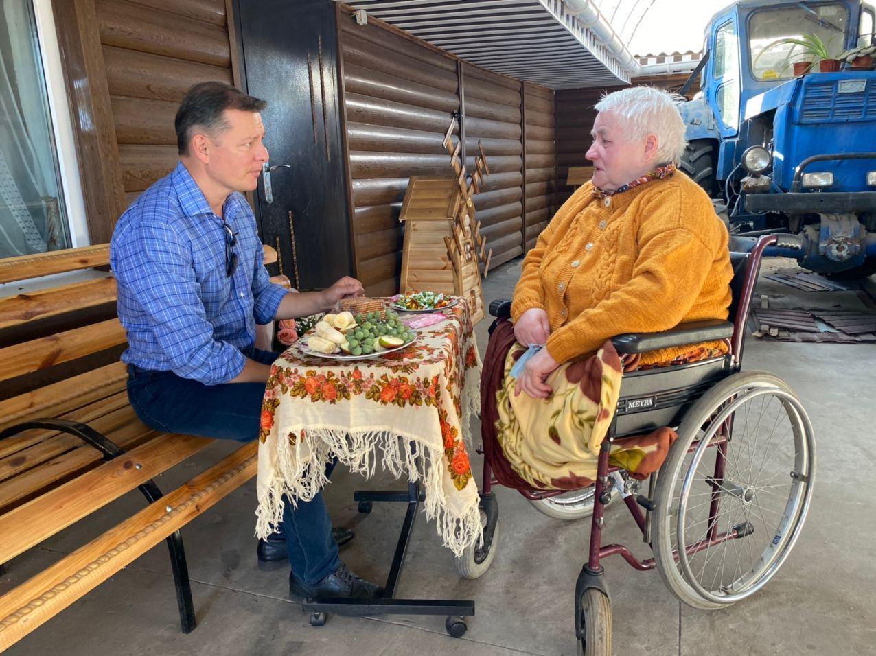 Ляшко: Повертаюсь до парламенту, щоб захищати людей з інвалідністю