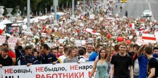 протест Мінськ