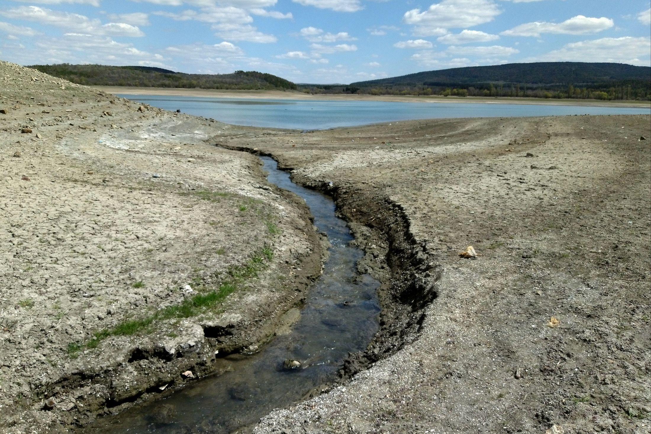 Крим засуха