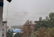 Краматорск накрыла мощная пылевая буря (ФОТО)