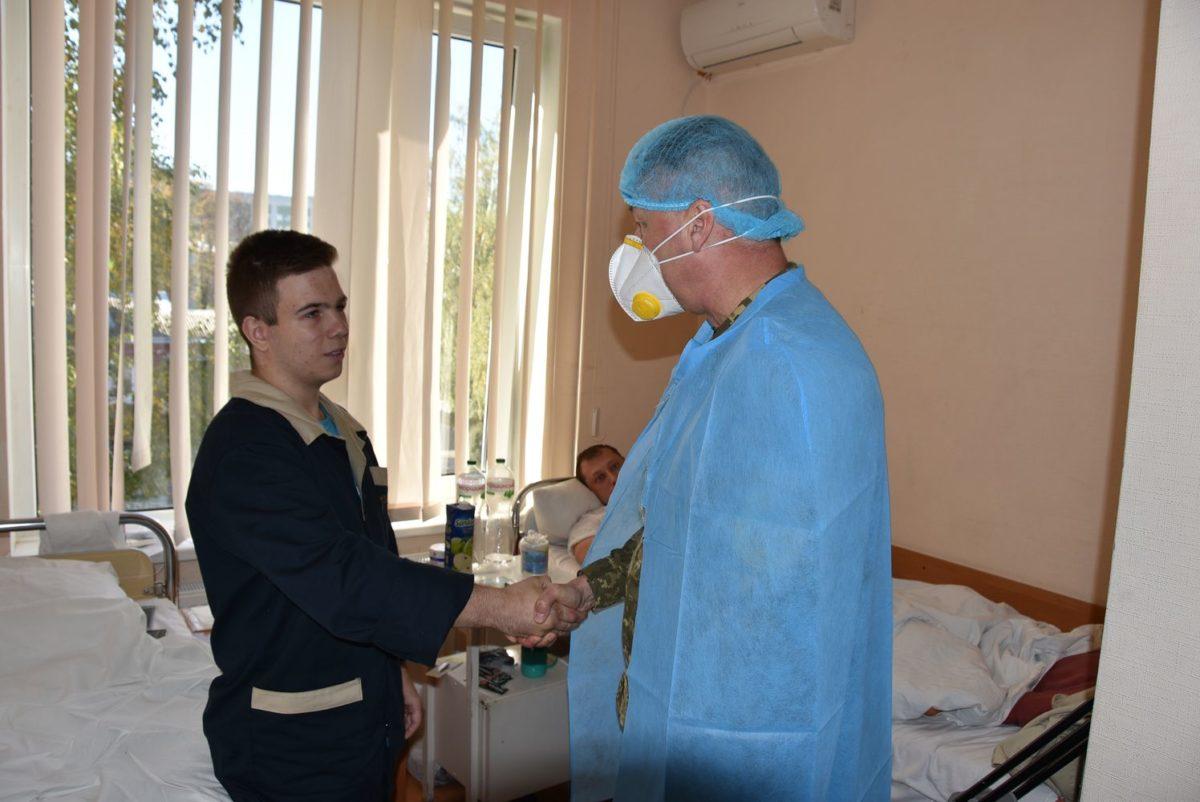 Курсант, який вижив у катастрофі Ан-26, продовжить навчання в університеті Повітряних сил ім. Кожедуба