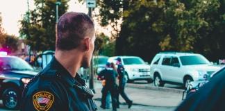 США полиция