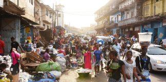 Африка бедность