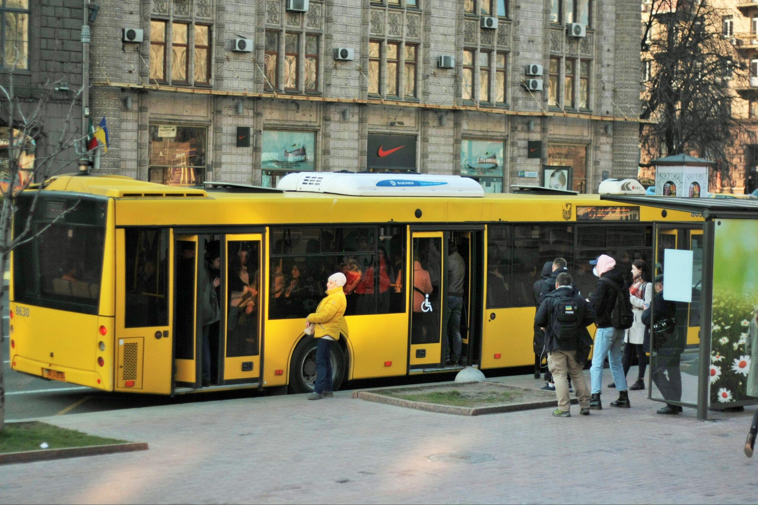 общественный транспорт Киев