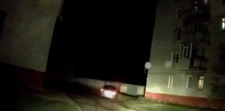 Под Сумами полиция гналась за мужчиной с гранатой, который угнал такси (ВИДЕО)