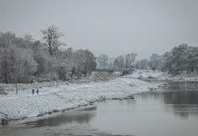 Западную Украину замело снегом