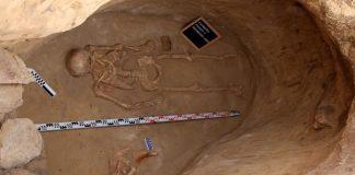 На Хортице нашли гробницу скифского воина