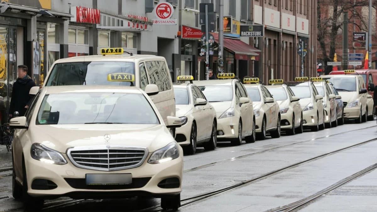 Германия такси