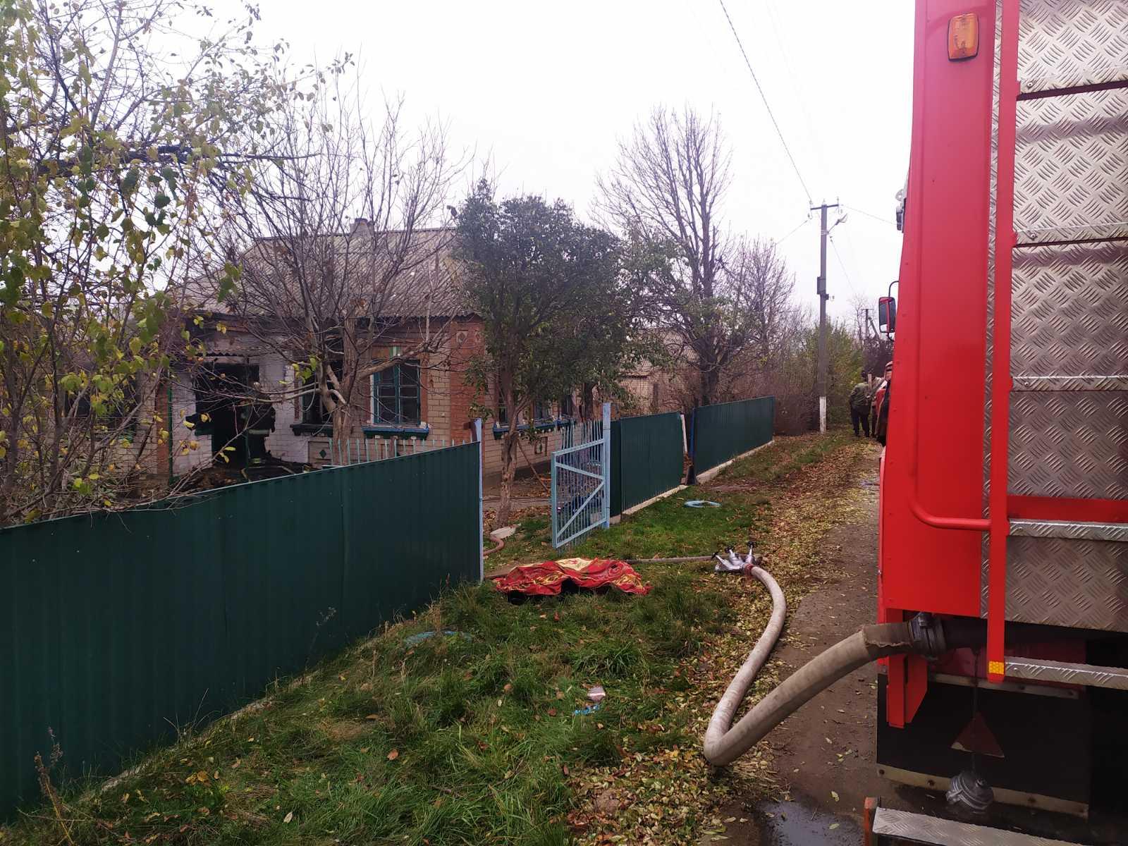 На Кіровоградщині внаслідок пожежі загинули 2 дорослих і 2 дітей