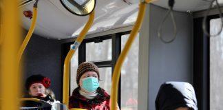 маски в транспорте