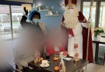 В Бельгии Санта-Клаус принёс COVID-19 в дом престарелых
