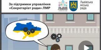 Львовский горсовет выпустил видео с картой Украины без Крыма