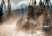 """В Одессе после наступления морозов """"закипело"""" море"""
