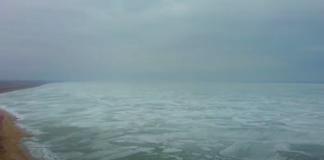 Азовське море замерзло