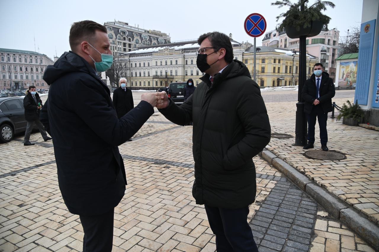 До Києва з робочим візитом прибув глава МЗС Литви