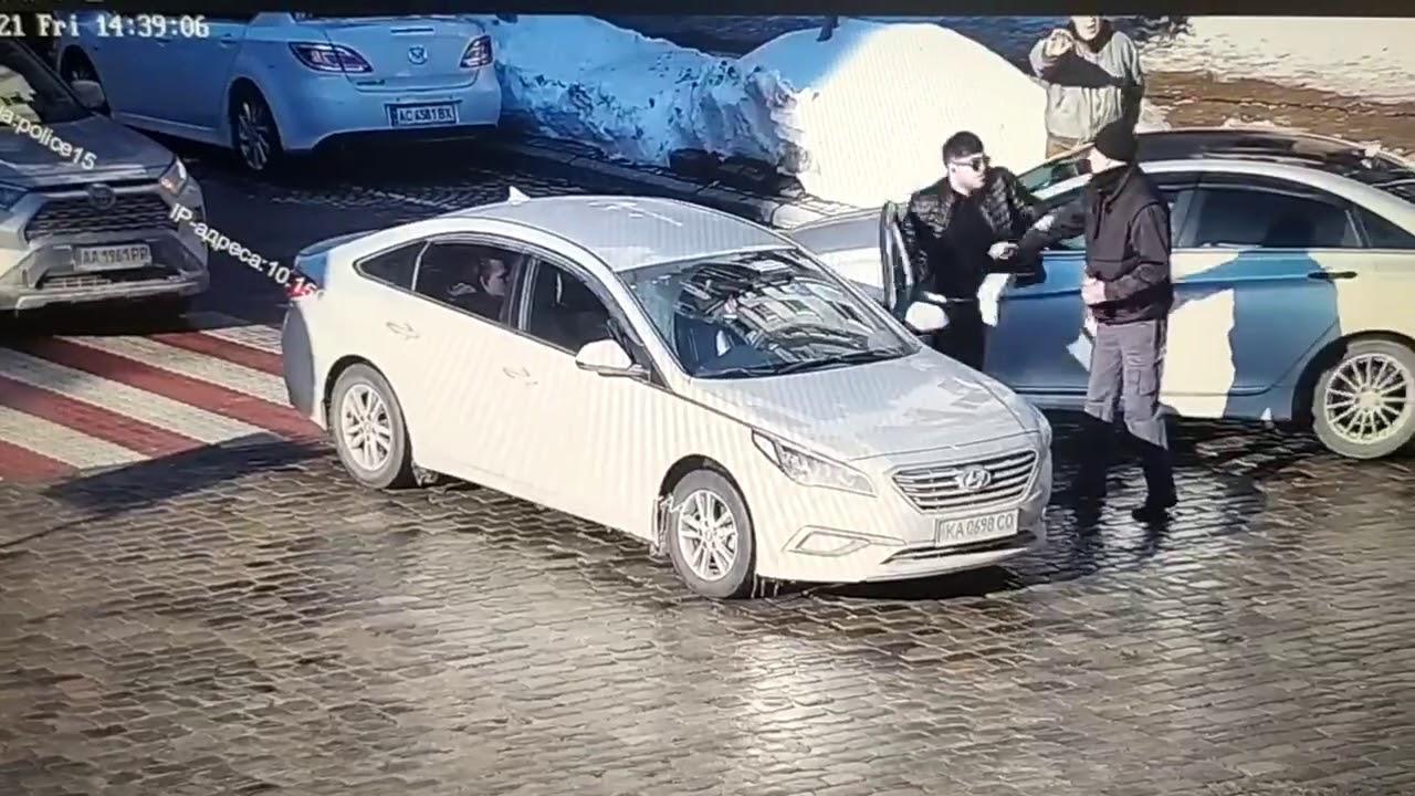 Вбивство пішохода в центрі Києва