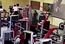 В Москве в фитнес-клубе расстреляли посетителя (ВИДЕО)