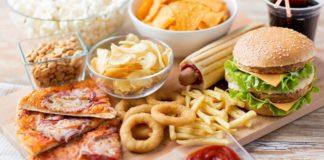 вредная еда фастфуд