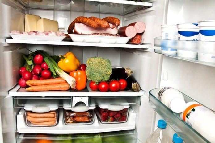 холодильник еда питание продукты
