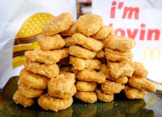 McDonald's наггетсы