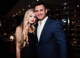 Тищенко с женой